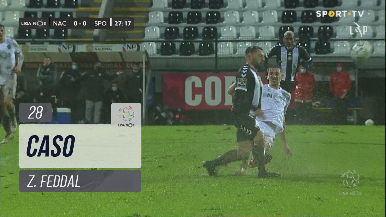 Sporting CP, Caso, Z. Feddal aos 28'