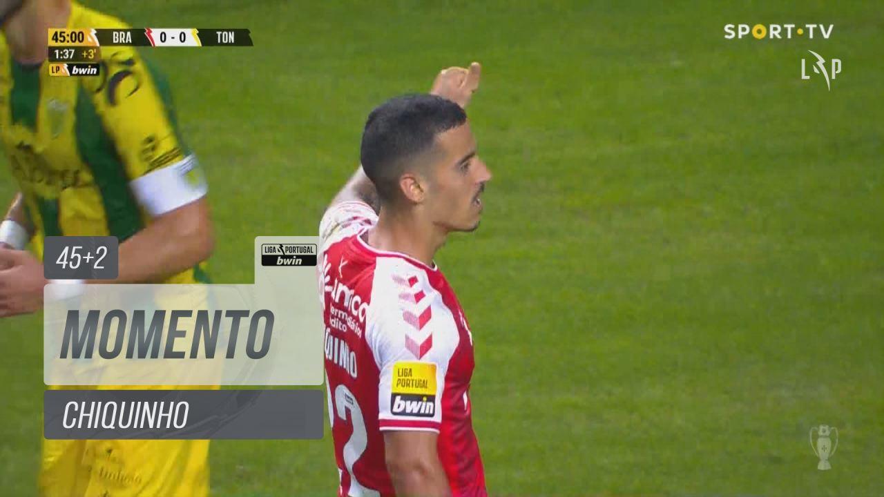 SC Braga, Jogada, Chiquinho aos 45'+2'