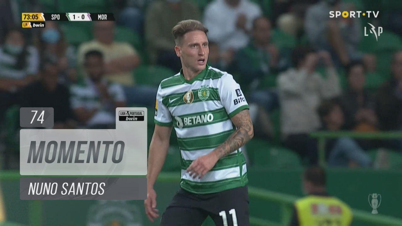 Sporting CP, Jogada, Nuno Santos aos 74'