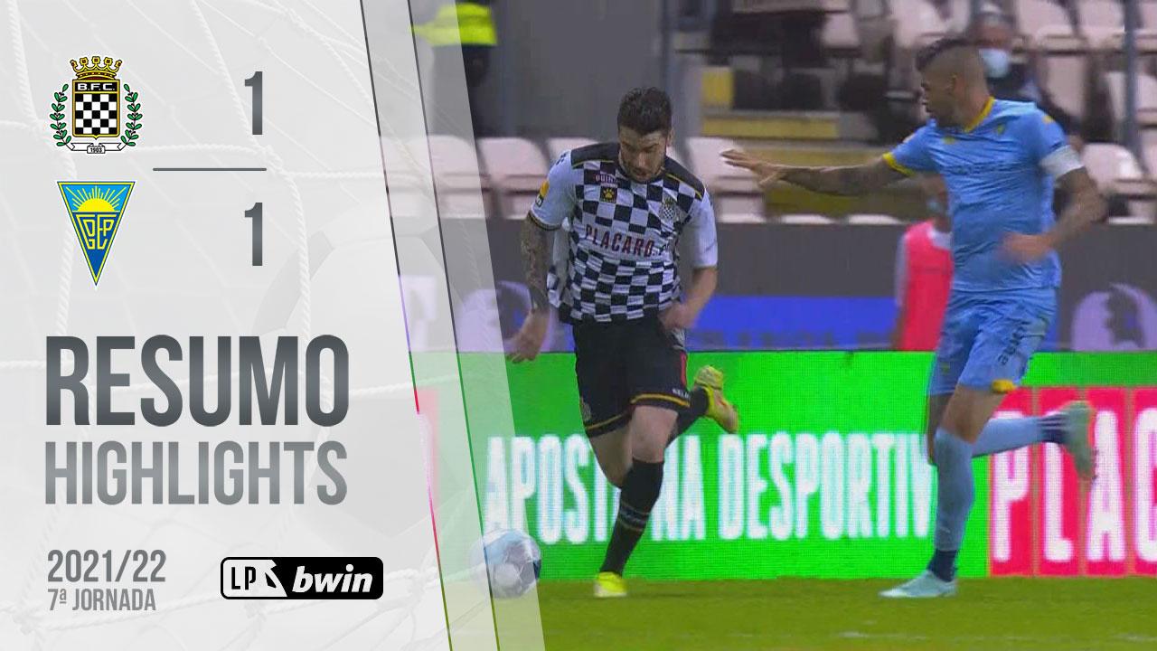 Liga Portugal bwin (7ªJ): Resumo Boavista FC 1-1 Estoril Praia