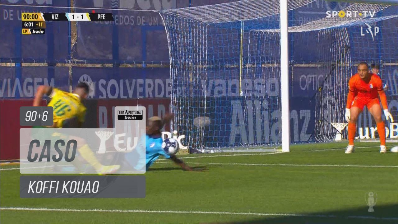 FC Vizela, Caso, Koffi Kouao aos 90'+6'