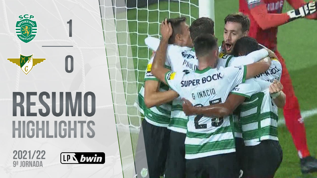 Liga Portugal bwin (9ªJ): Resumo Sporting CP 1-0 Moreirense FC