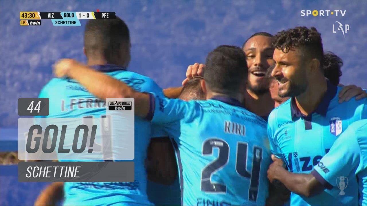 GOLO! FC Vizela, Schettine aos 44', FC Vizela 1-0 ...