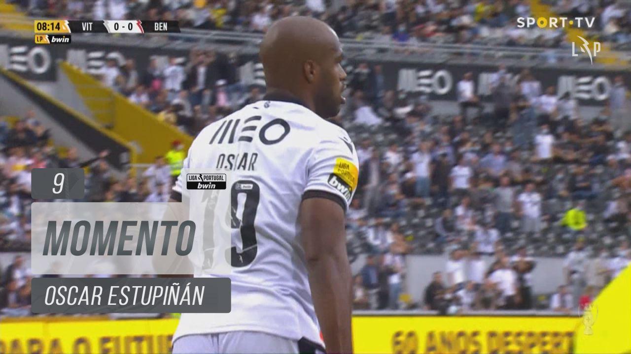 Vitória SC, Jogada, Oscar Estupiñán aos 9'