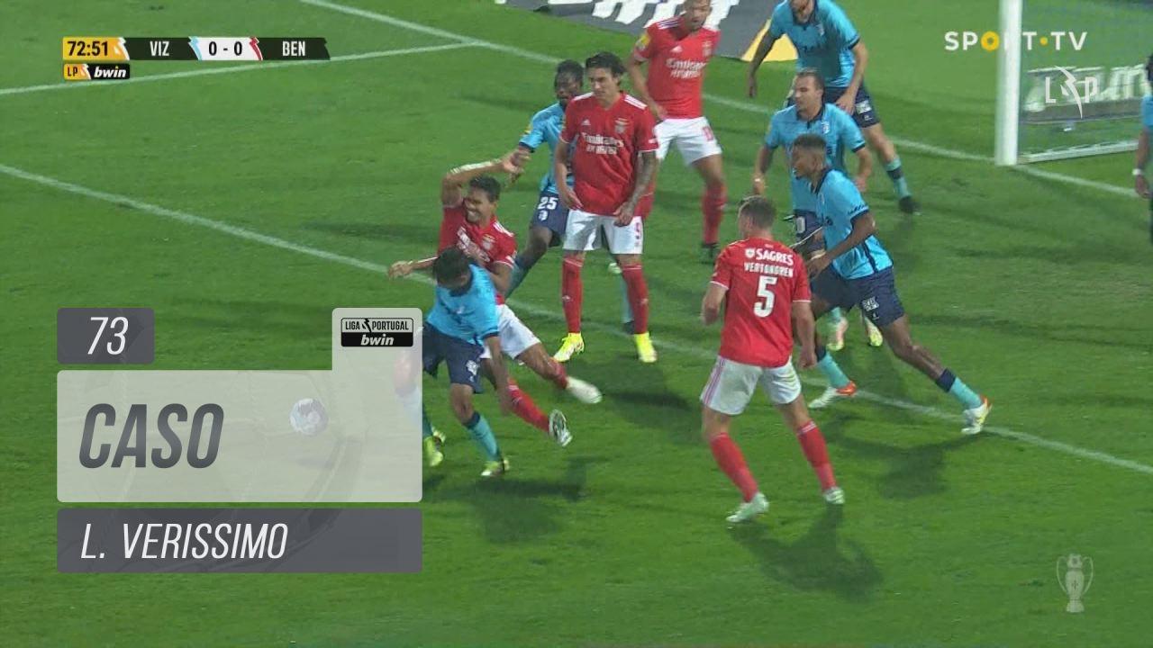 SL Benfica, Caso, L. Verissimo aos 73'