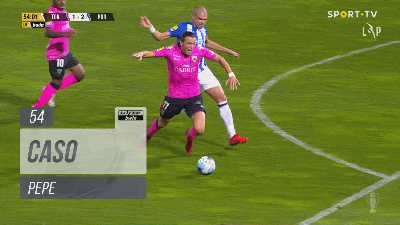 FC Porto, Caso, Pepe aos 54'