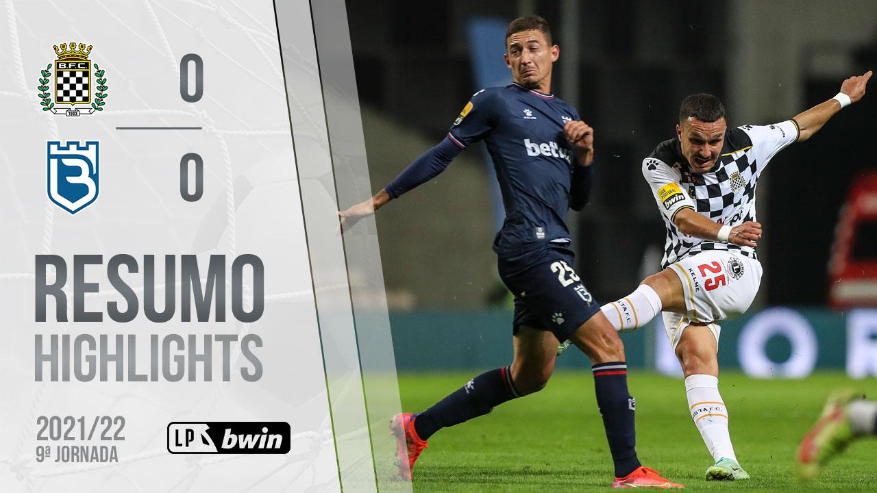 Liga Portugal bwin (9ªJ): Resumo Boavista FC 0-0 Belenenses SAD