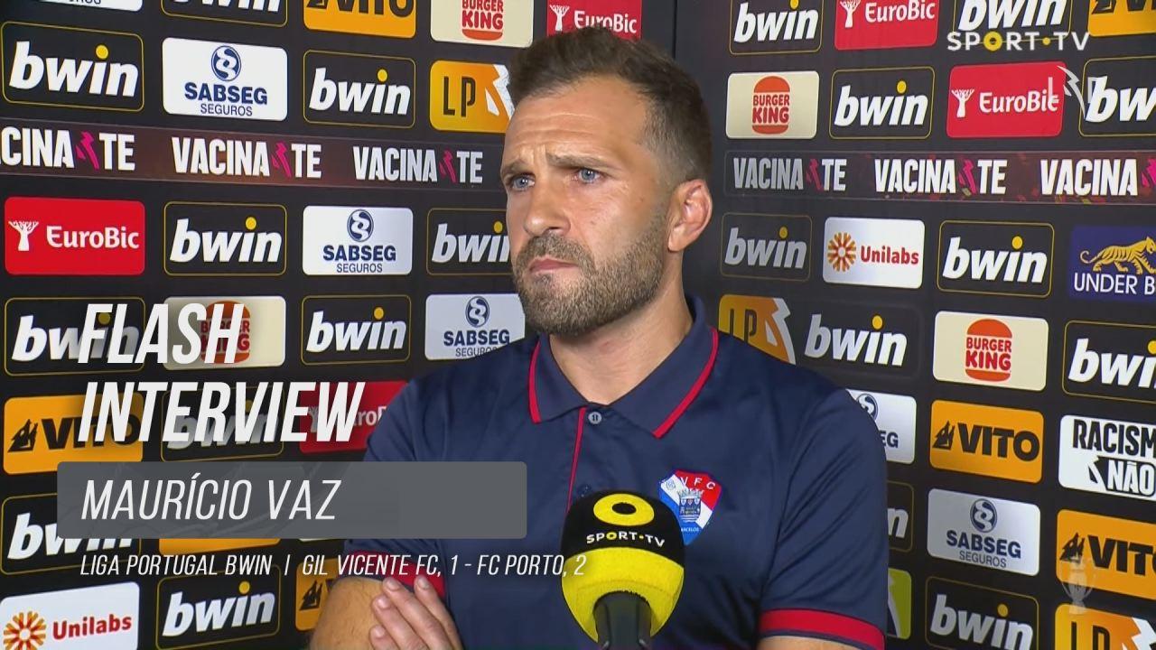 "Maurício Vaz: ""Hoje merecíamos mais"""