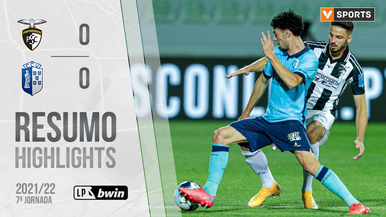 Liga Portugal bwin (7ªJ): Resumo Portimonense 0-0 FC Vizela