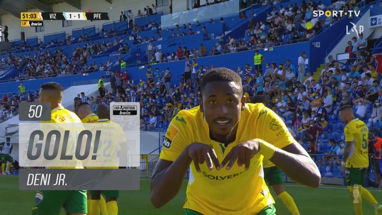 GOLO! FC P.Ferreira, Deni Jr. aos 50', FC Vizela 1...
