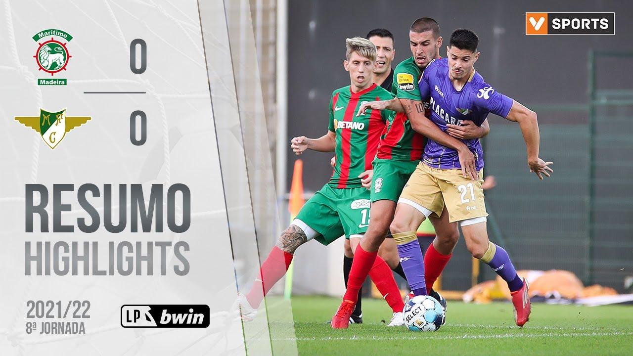 Liga Portugal bwin (8ªJ): Resumo Marítimo M. 0-0 Moreirense FC
