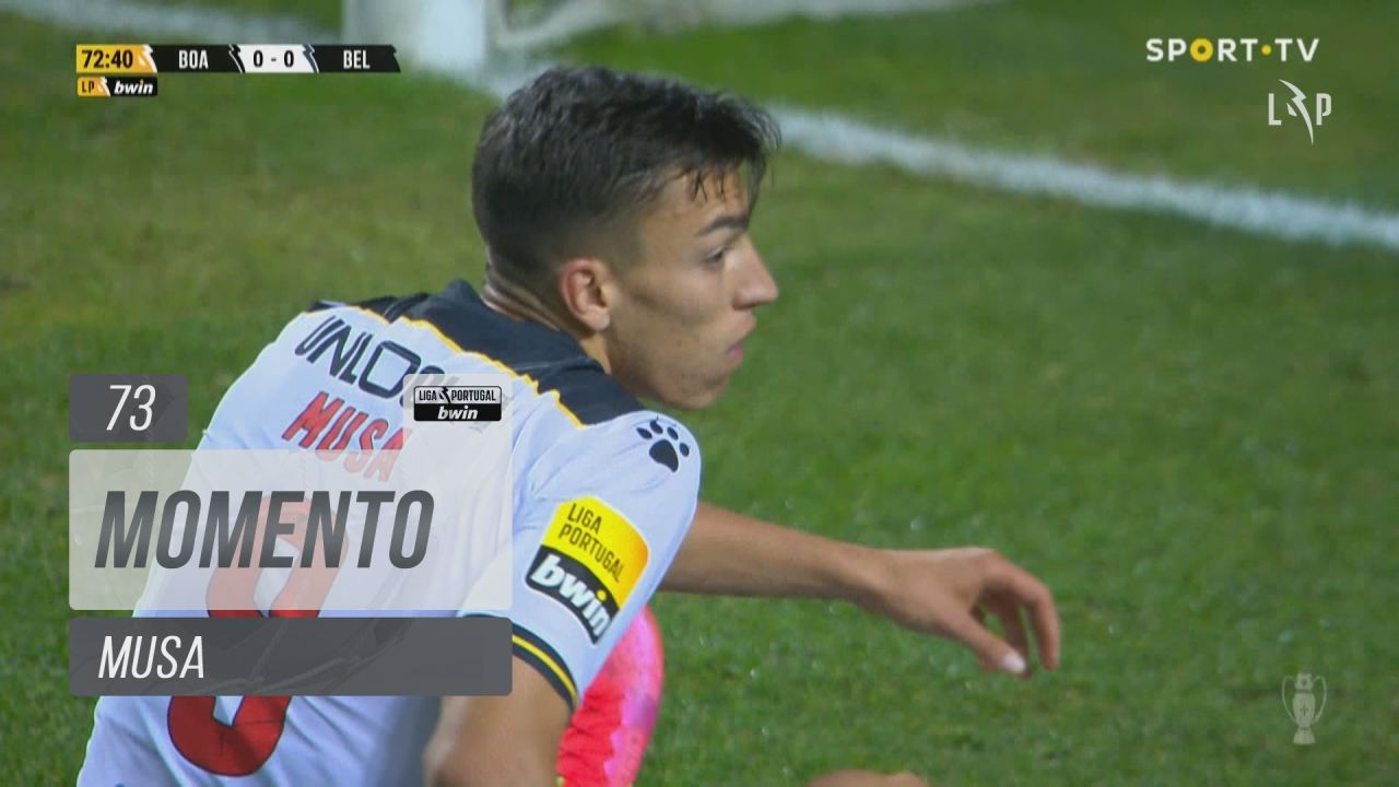 Boavista FC, Jogada, Musa aos 73'