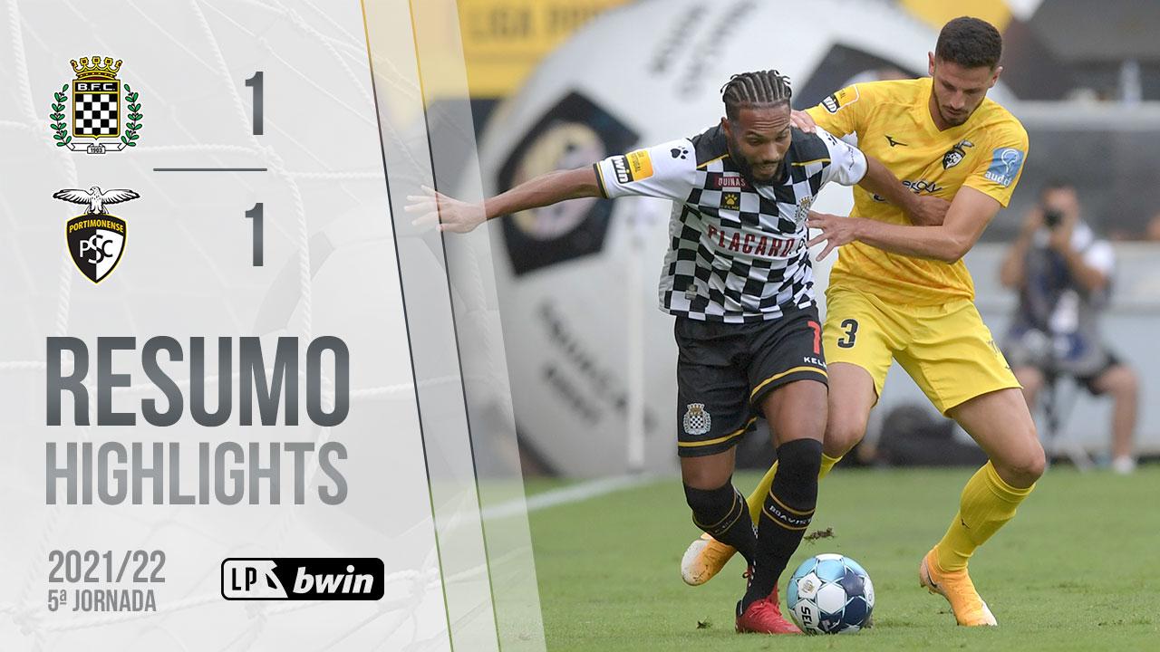 Liga Portugal bwin (5ªJ): Resumo Boavista FC 1-1 Portimonense