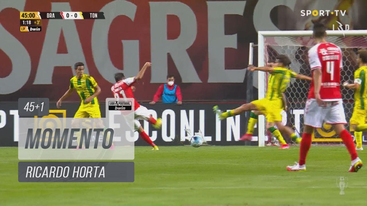 SC Braga, Jogada, Ricardo Horta aos 45'+1'