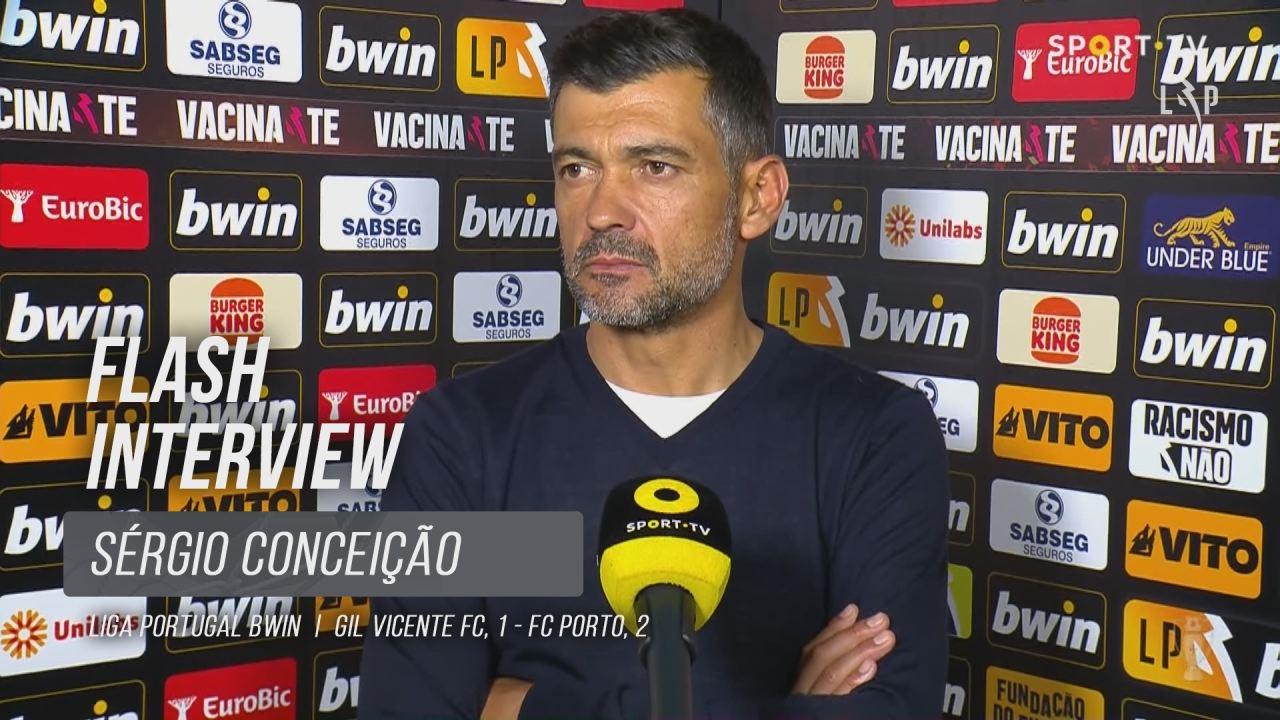 """Sérgio Conceição: """"Resultado completamente justo"""""""