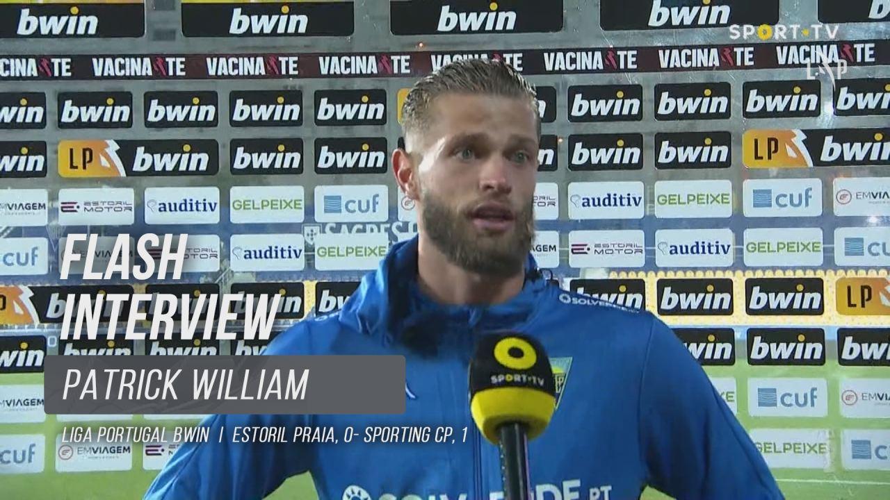 """Patrick William: """"Grande jogo, grande espectáculo"""""""