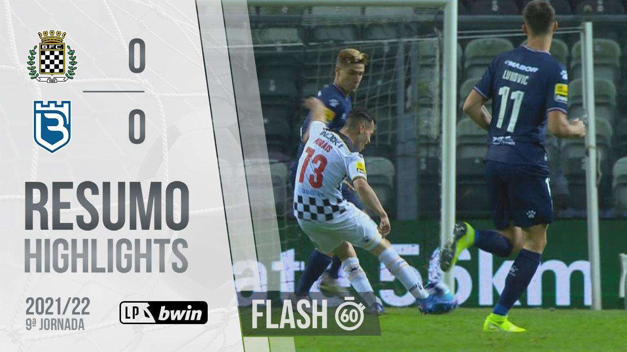 Liga Portugal bwin (9ªJ): Resumo Flash Boavista FC 0-0 Belenenses SAD