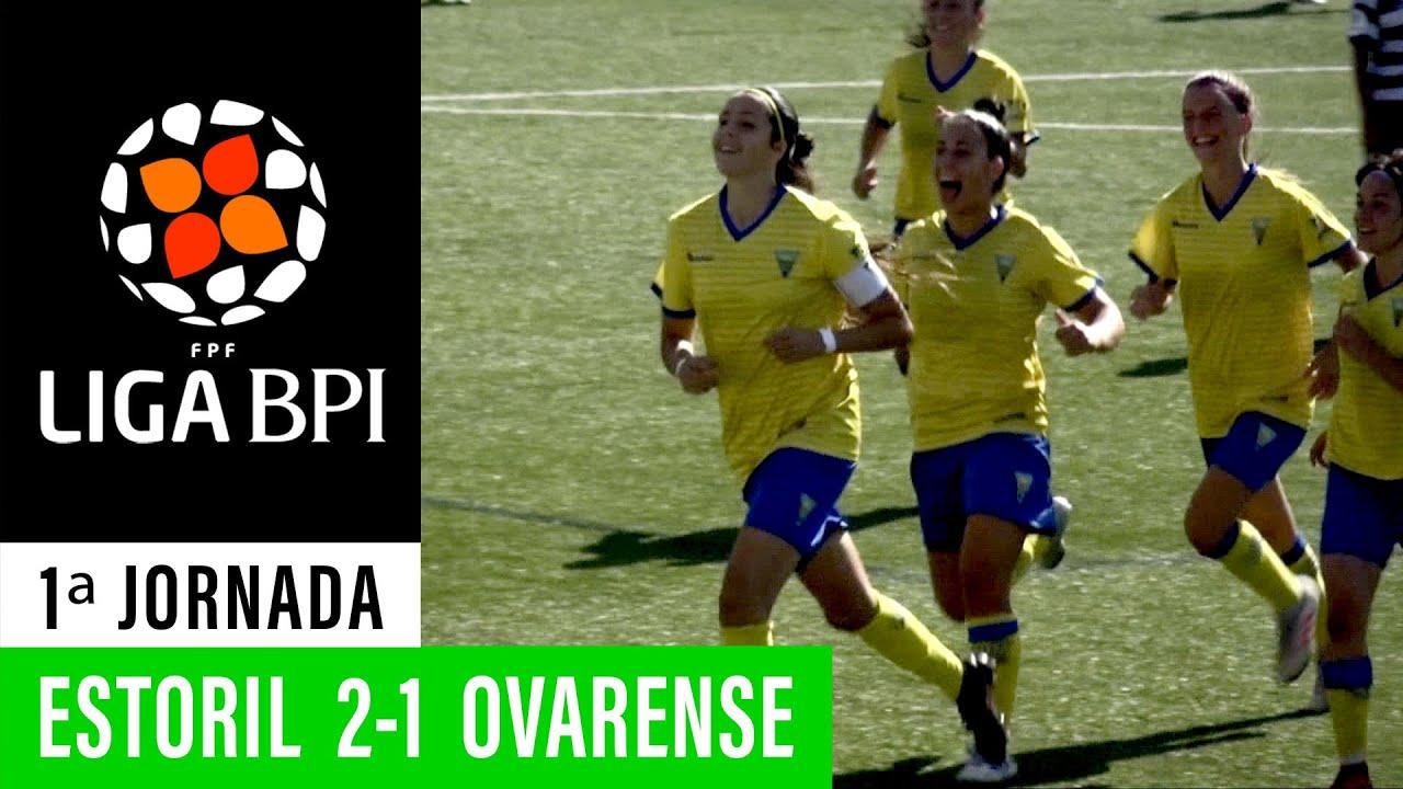 Liga BPI (1ª Jornada): Resumo Estoril Praia 2-1 Ovarense