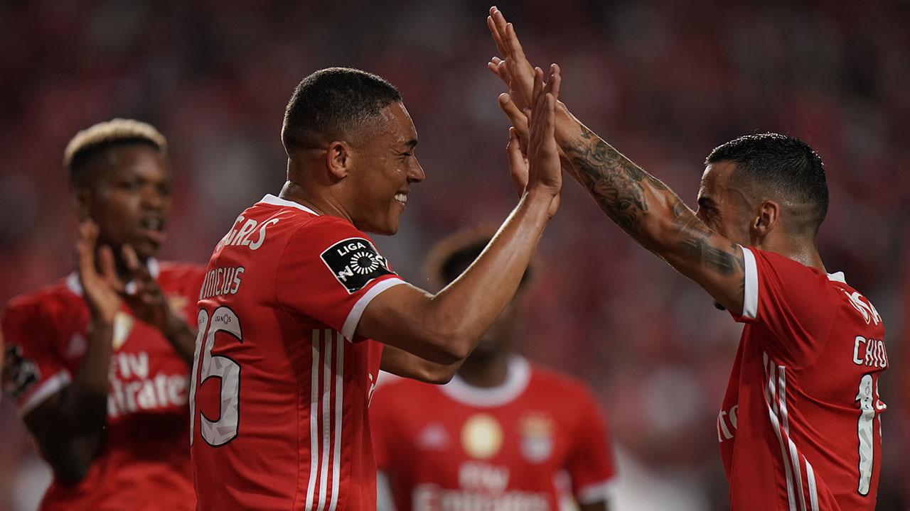 Últimos golos Benfica