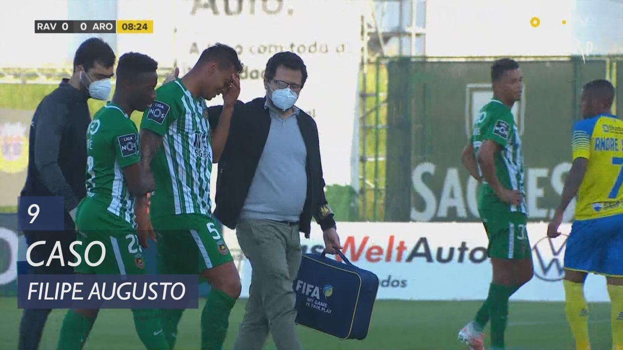 Rio Ave FC, Caso, Filipe Augusto aos 9'