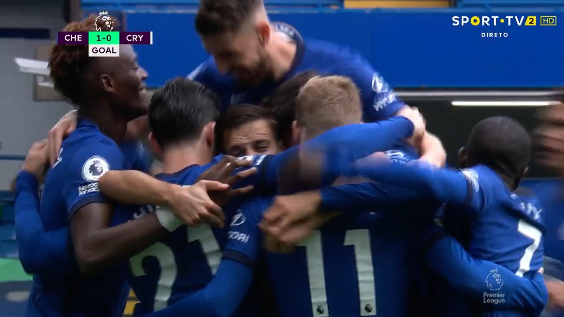 Premier League (4ª Jornada): Resumo Chelsea 4-0 Crystal Palace