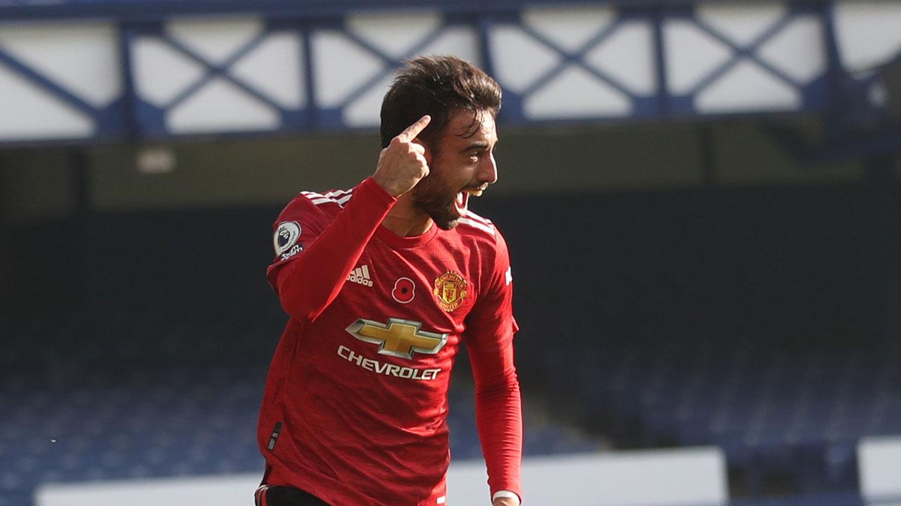 Premier League (8ª Jornada): Resumo Everton 1-3 Man. United