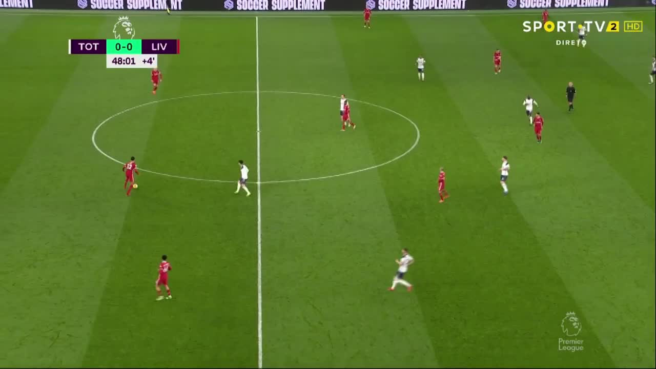 Premier League (20ª Jornada): Resumo Tottenham 1-3 Liverpool