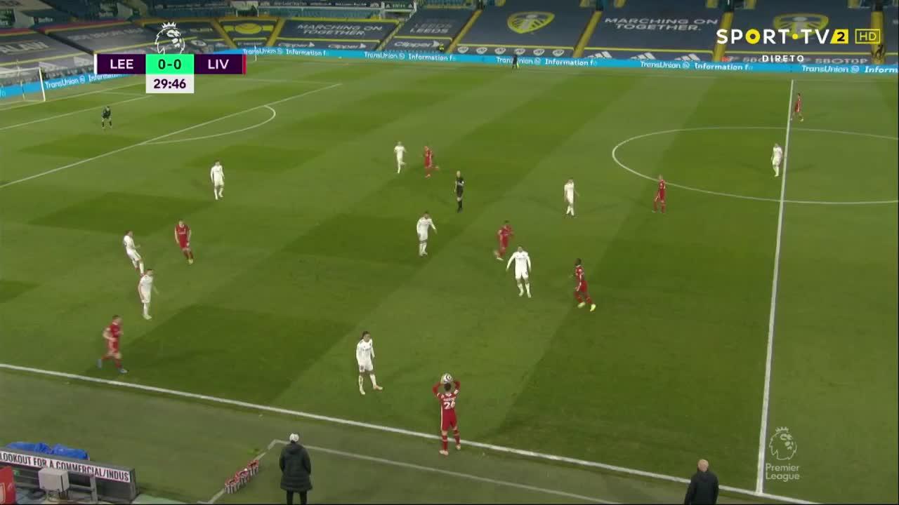 Premier League (32ª Jornada): Resumo Leeds United 1-1 Liverpool
