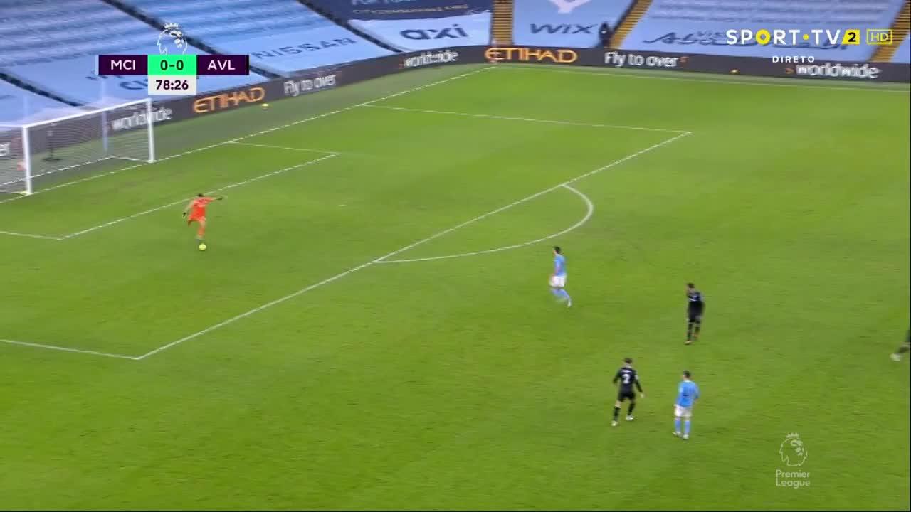 Premier League (1ª Jornada): Resumo Man. City 2-0 Aston Villa