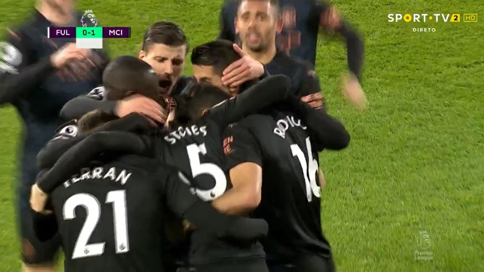 Premier League (28ª Jornada): Resumo Fulham 0-3 Man. City