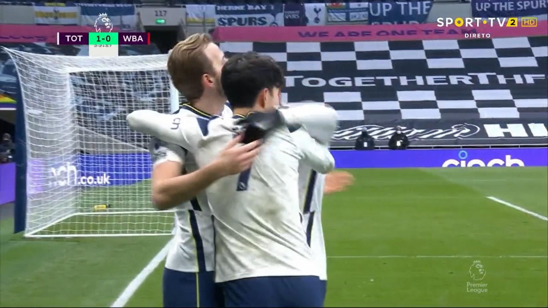 Premier League (23ª Jornada): Resumo Tottenham 2-0 West Bromwich Albion