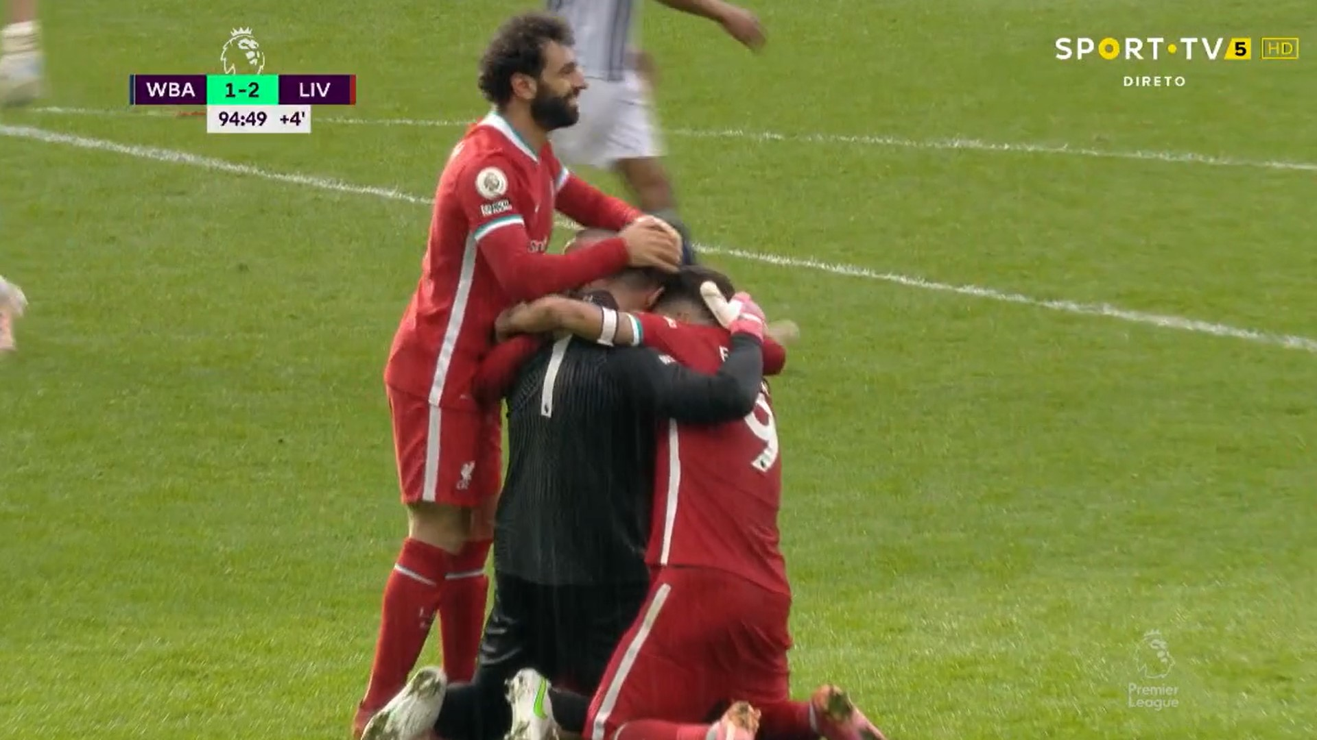 Premier League (36ª Jornada): Resumo West Bromwich Albion 1-2 Liverpool