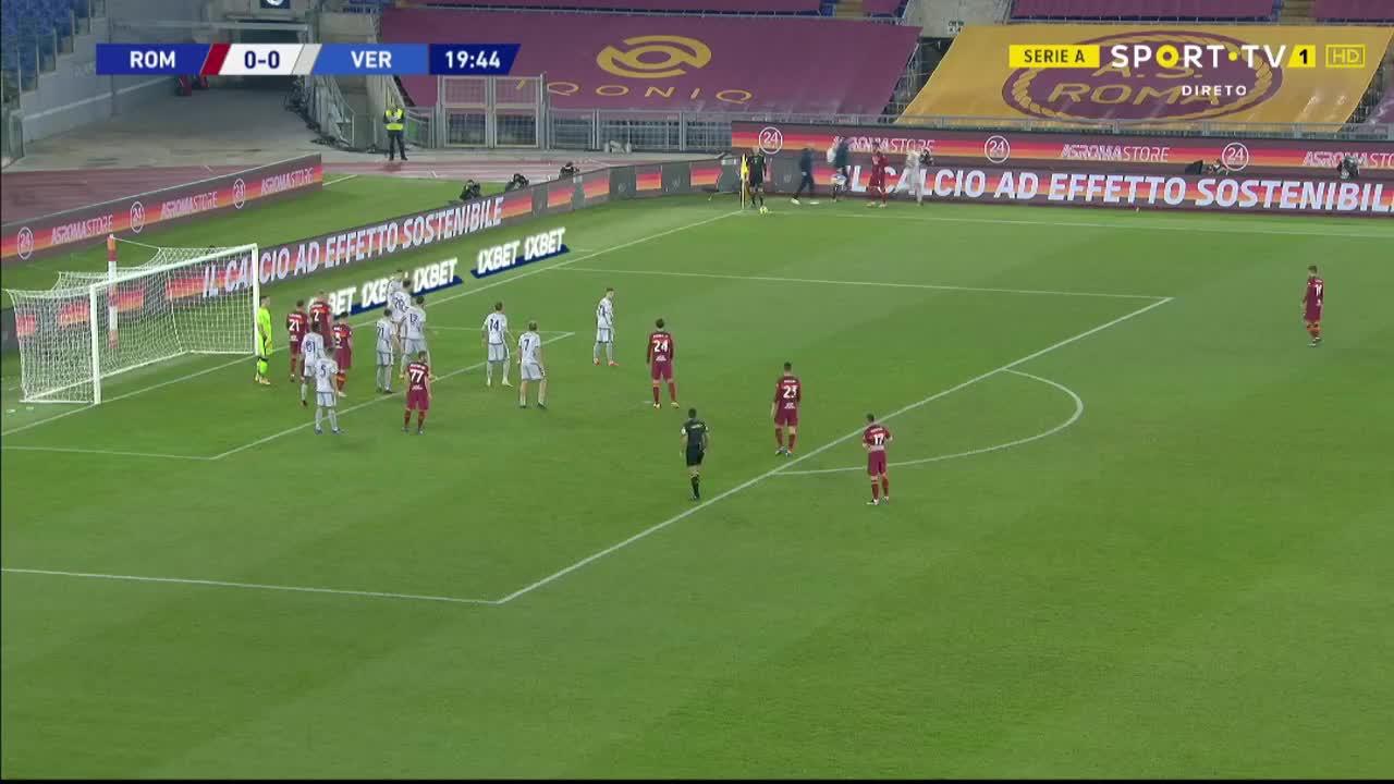 Serie A (20ª Jornada): Resumo Roma 3-1 Verona