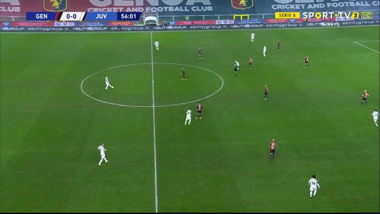 Serie A (11ª Jornada): Resumo Genoa 1-3 Juventus