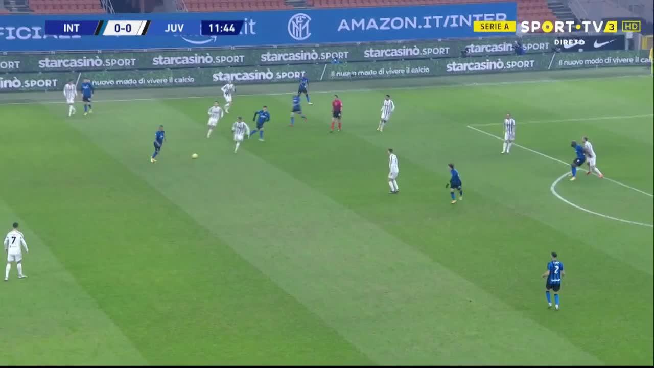 Serie A (18ª Jornada): Resumo Internazionale 2-0 Juventus