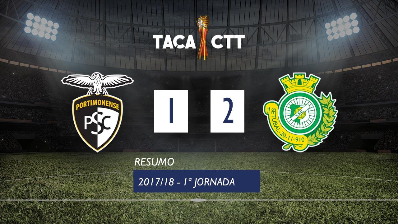 Portimonense Setubal goals and highlights