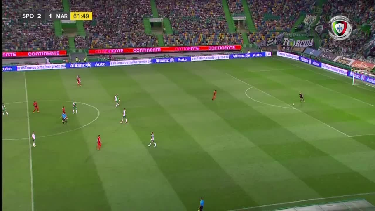 GOLO! Sporting CP, Bruno Fernandes aos 63', Sporting CP 3-1 Marítimo M.