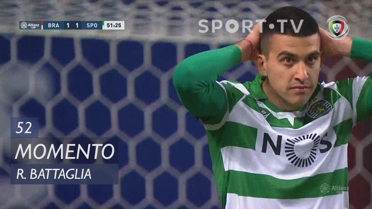Sporting CP, Jogada, Rodrigo Battaglia aos 52'
