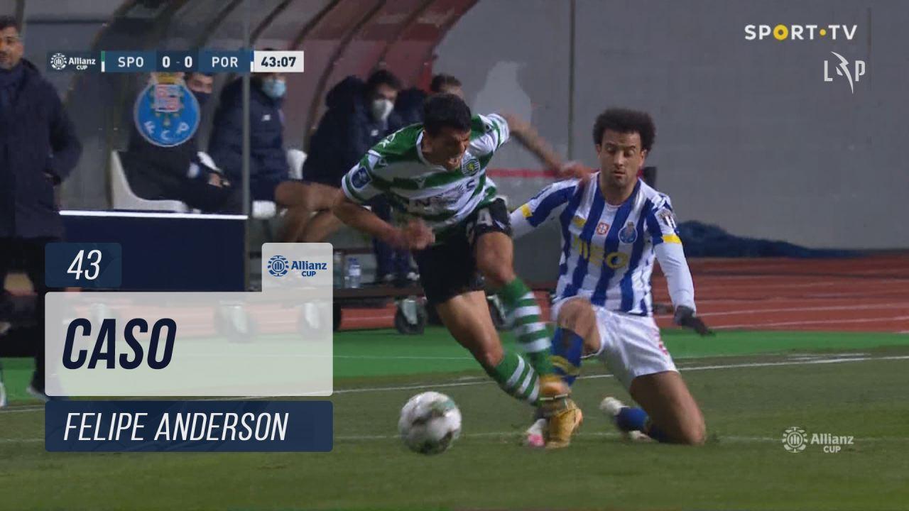 FC Porto, Caso, Felipe Anderson aos 43'