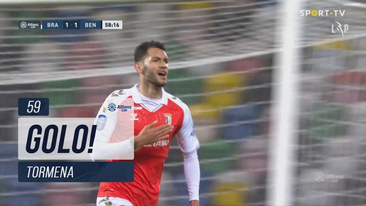 GOLO! SC Braga, Tormena aos 59', SC Braga 2-1 SL Benfica