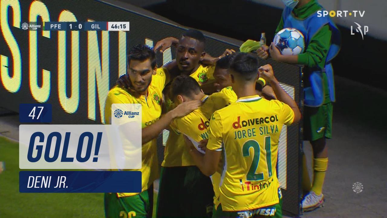 GOLO! FC P.Ferreira, Deni Jr. aos 47', FC P.Ferrei...