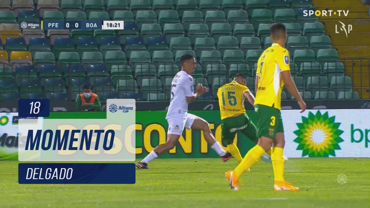 FC P.Ferreira, Jogada, Delgado aos 18'