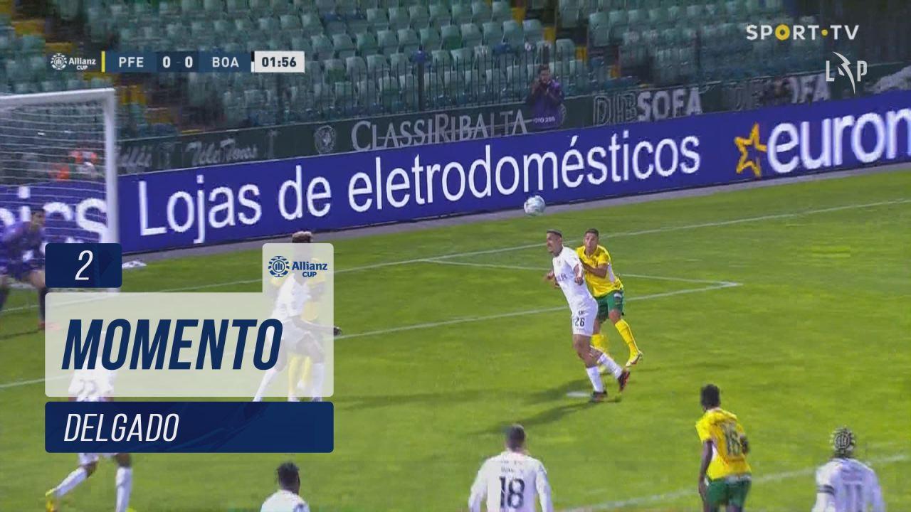 FC P.Ferreira, Jogada, Delgado aos 2'