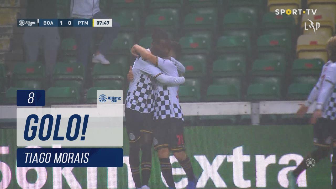 GOLO! Boavista FC, Tiago Morais aos 8', Boavista F...