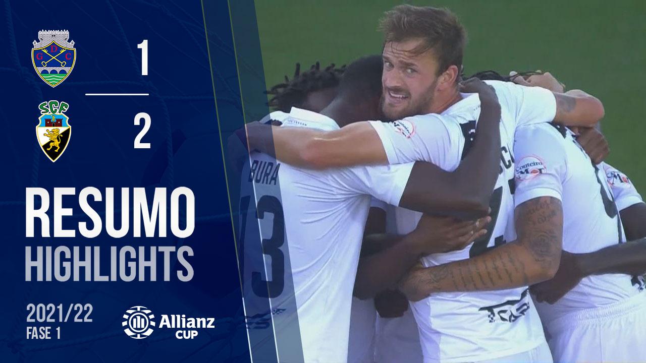 Allianz Cup (1ª Fase): Resumo GD Chaves 1-2 SC Farense