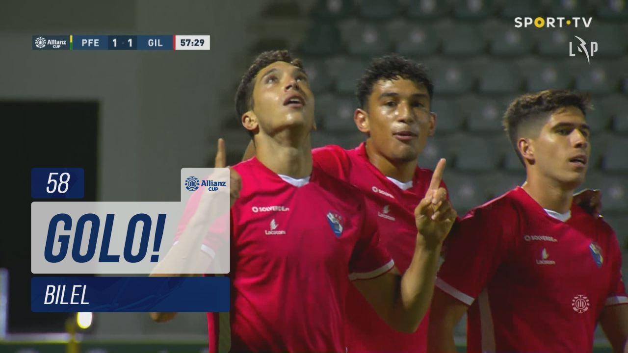 GOLO! Gil Vicente FC, Bilel aos 58', FC P.Ferreira...