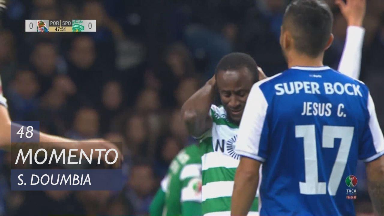 Sporting CP, Jogada, S. Doumbia aos 48'