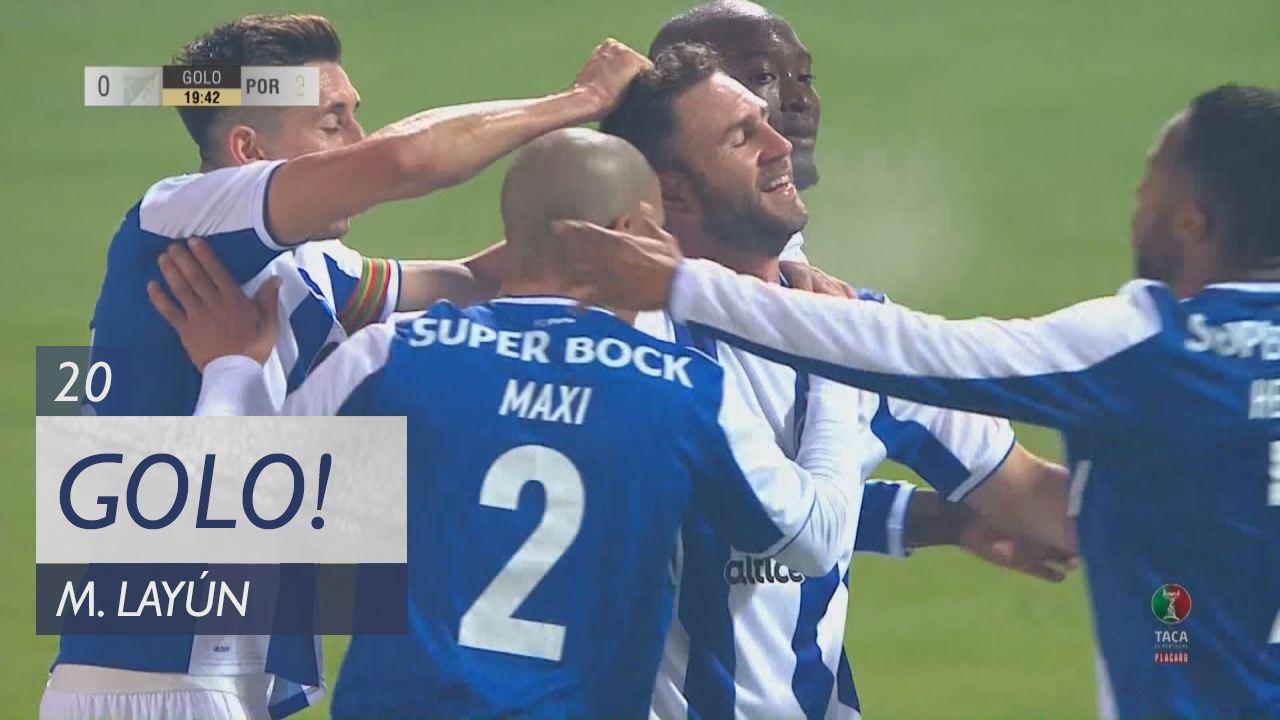 FC Porto, M. Layún aos 20', Moreirense FC 0-2 FC Porto