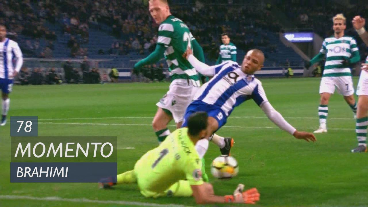 FC Porto, Jogada, Brahimi aos 78'