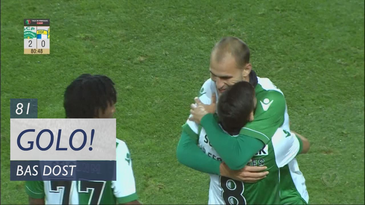 Sporting CP, Bas Dost aos 81', Sporting CP 2-0 FC Famalicão
